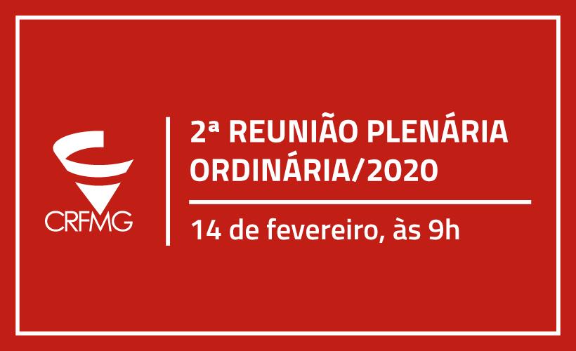 2ª Plenária Ordinária será nesta sexta-feira, dia 14, a partir das 9h com debate técnico às 14h